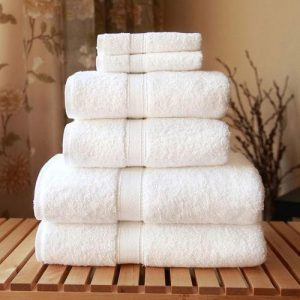 buy white hotel towels