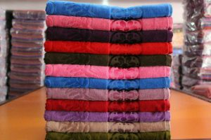 Manufacture of men's sports towels
