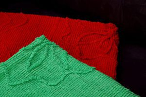 how to make a towel blanket