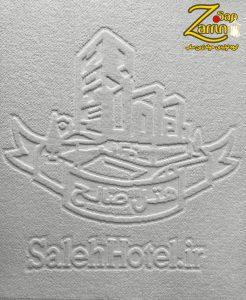 Logo printing on cheap towels