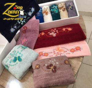 buy floral hand towels