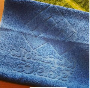 promotional towels texture
