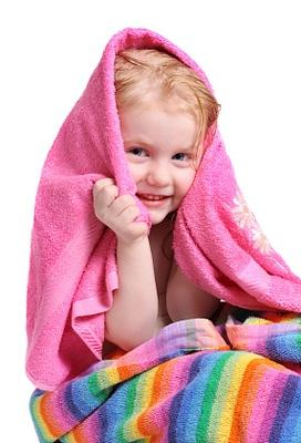 baby vision towels