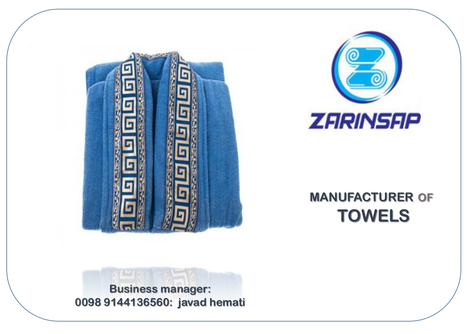 Attributes of tunic towels